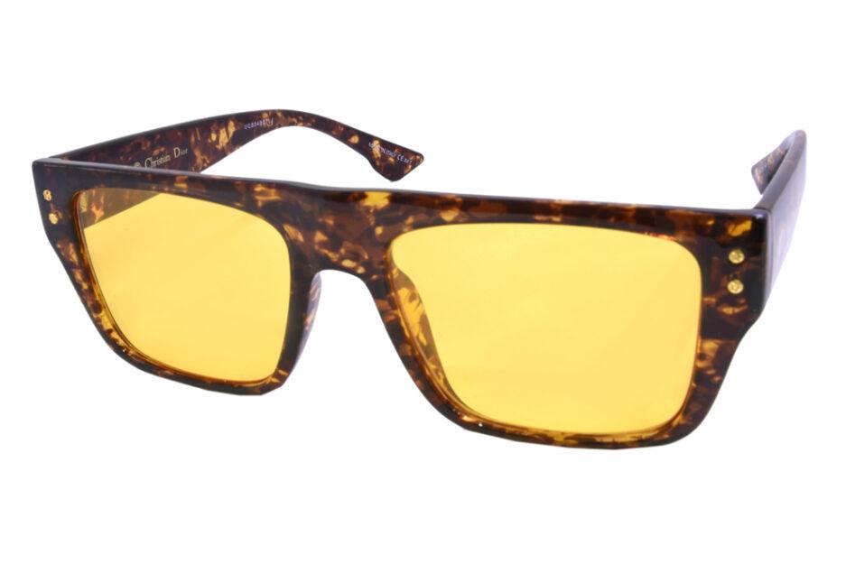 Dior Men 86 Brown Sunglasses 2