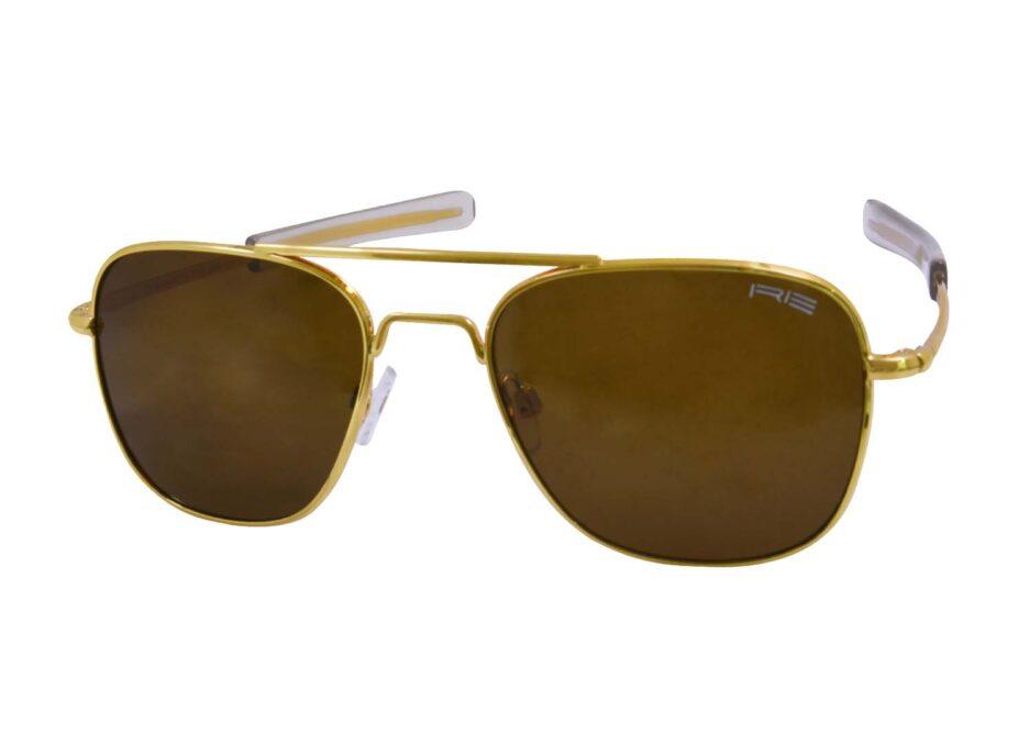 Randolph Engineering Golden Sunglasse 2