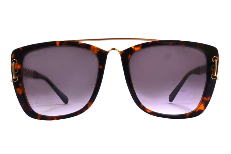 Chanel Ladies Sunglasse 5009 Tortoise 1