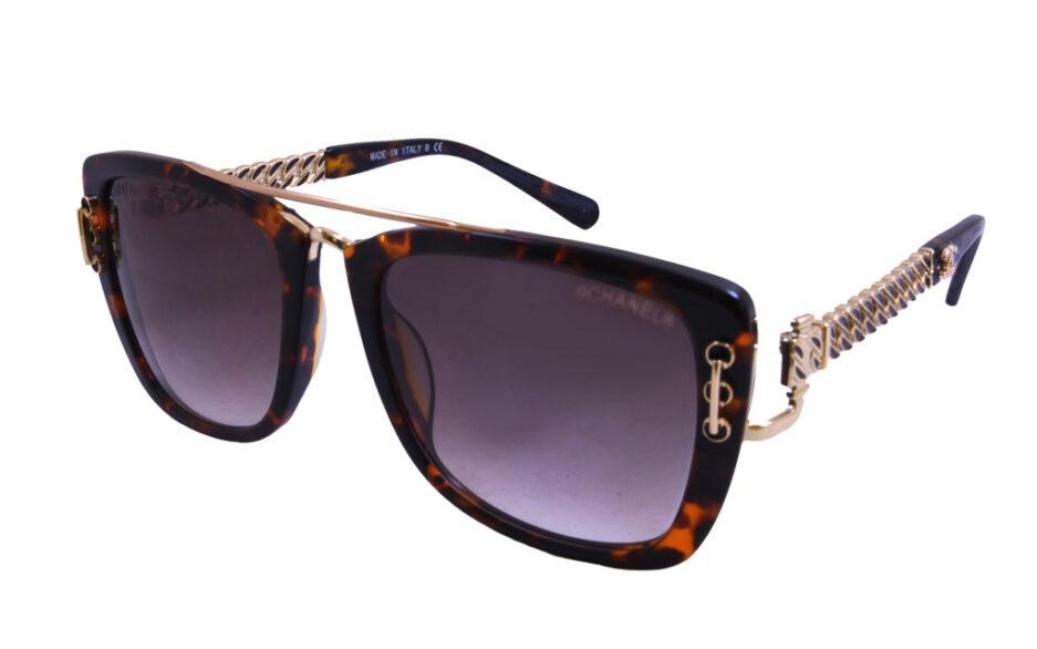 Chanel Ladies Sunglasse 5009 Tortoise 2