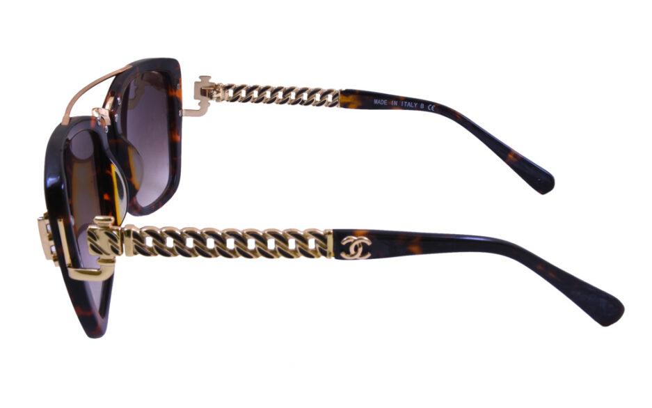 Chanel Ladies Sunglasse 5009 Tortoise 3