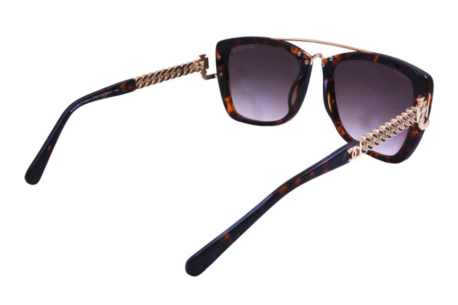 Chanel Ladies Sunglasse 5009 Tortoise 5