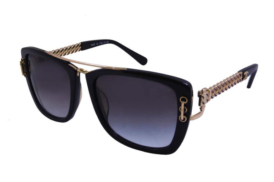 Ladies Chanel 5509 Black Sunglasses 2