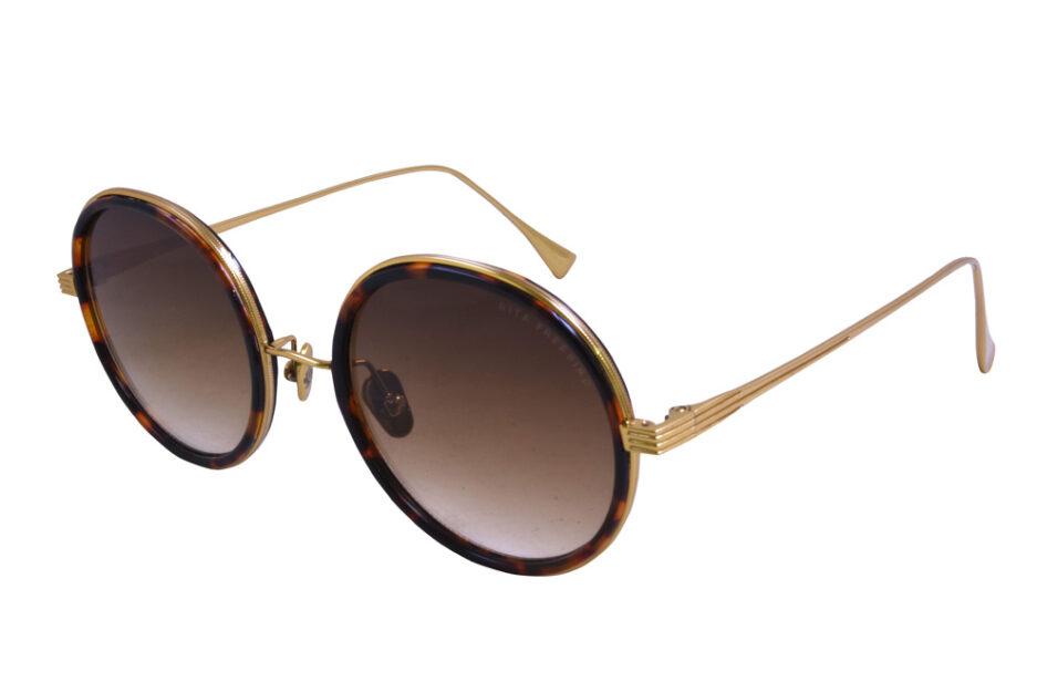 Round Dita Freebird Sunglasse Tortoise 2