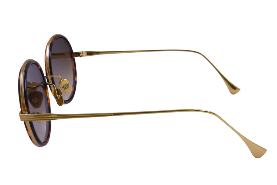 Round Dita Freebird Sunglasse Tortoise 3