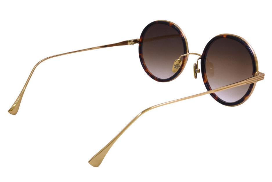 Round Dita Freebird Sunglasse Tortoise 5