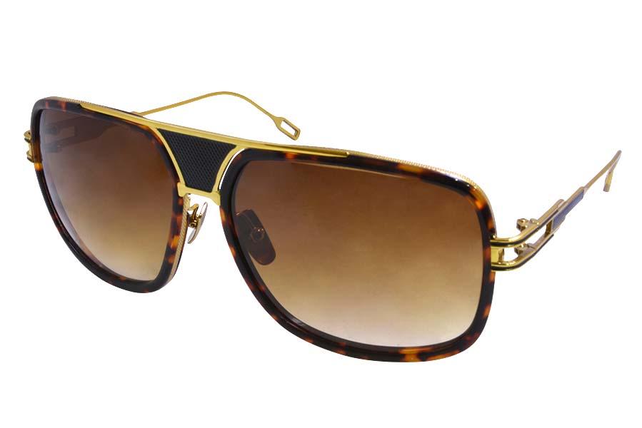 Sunglasses Dita Grandmaster Five Sunglasses Tortoise Gold 2