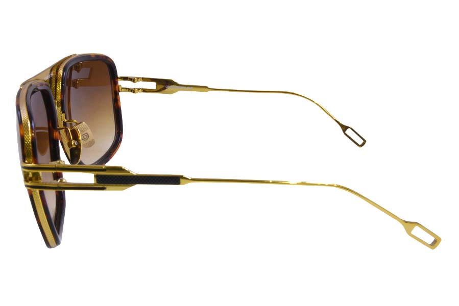 Sunglasses Dita Grandmaster Five Sunglasses Tortoise Gold 3
