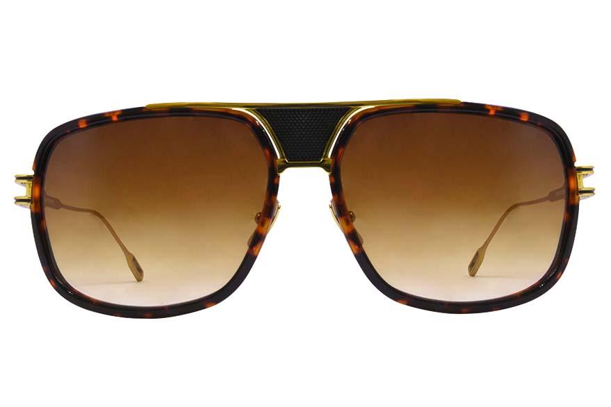 Sunglasses Dita Grandmaster Five Sunglasses Tortoise Gold 1