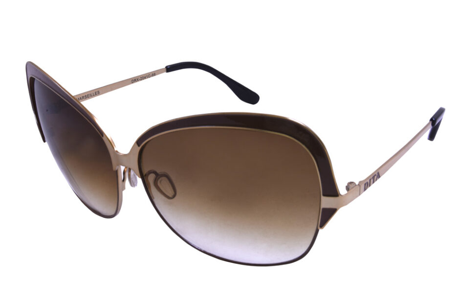 Dita Marseilles Ladies Sunglassses Brown 2