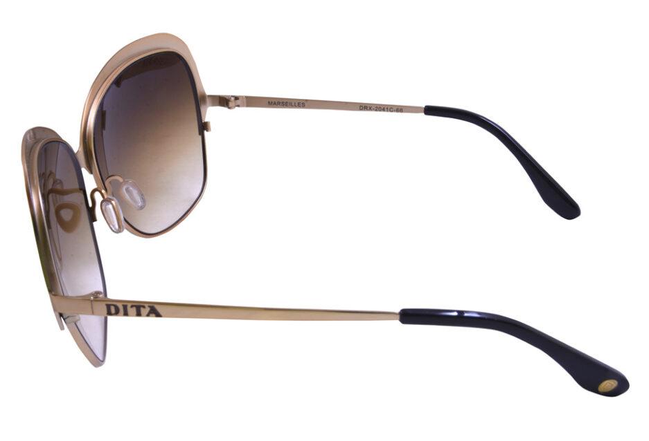 Dita Marseilles Ladies Sunglassses Brown 3