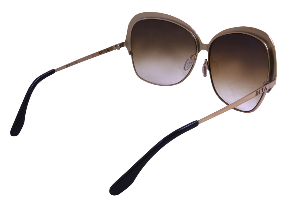 Dita Marseilles Ladies Sunglassses Brown 5