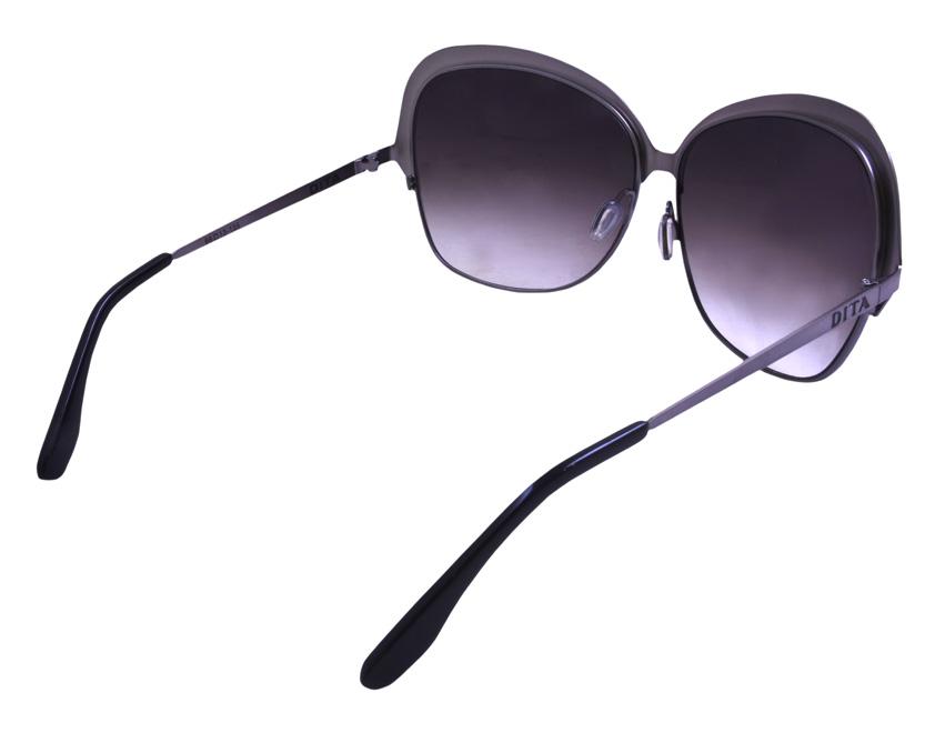 Ladies Dita Marseilles Sunglassses Black 5