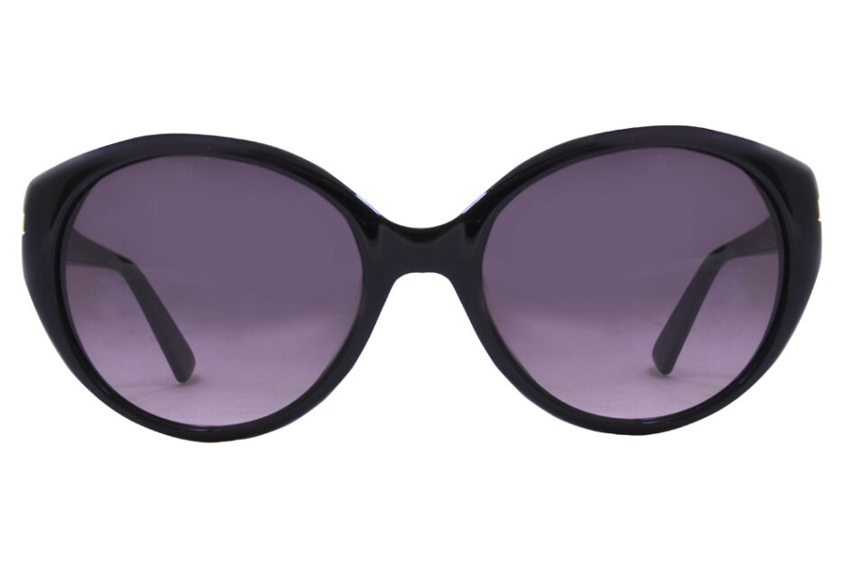 Emporio Armani Ladies Sunglasses 9739 Black 1