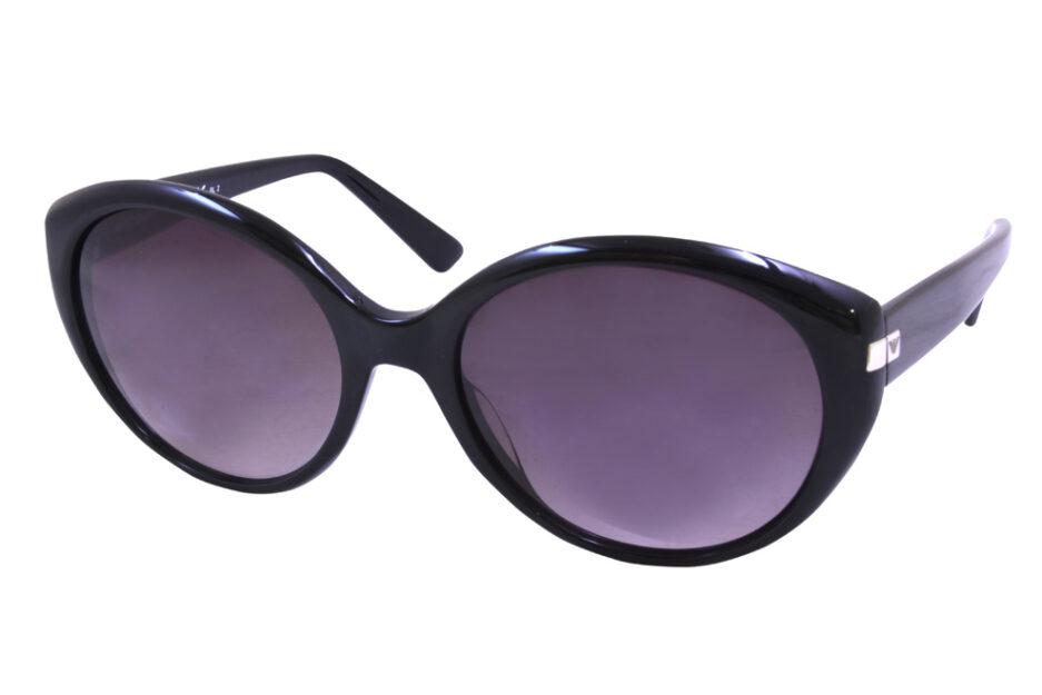 Emporio Armani Ladies Sunglasses 9739 Black 2