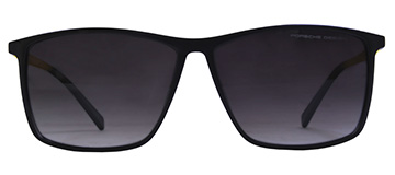 Porche 503 Black Red Sunglasses