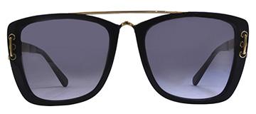 Ladies Chanel 5509 Black Sunglasses