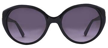 Emporio Armani Ladies Sunglasses 9739 Black