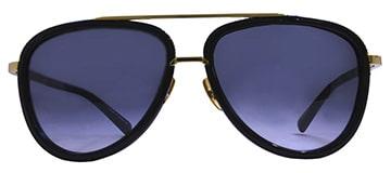 Dita Mach Black Gold Sunglasses