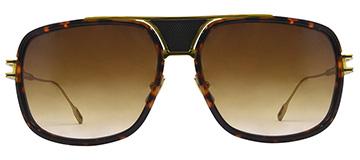 Sunglasses Dita Grandmaster Five Sunglasses Tortoise Gold