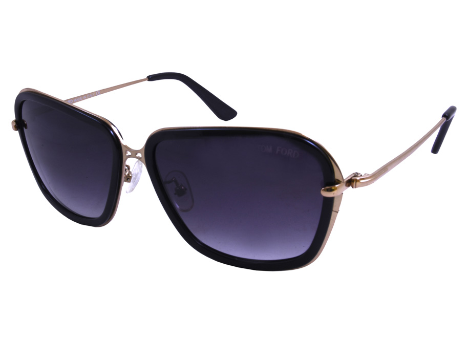 Tom Ford Ladies Sunglasse 9358 Black 2