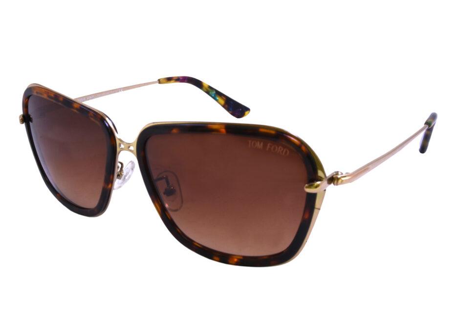 Ladies Tom Ford Sunglasse 9358 Tortoise 2