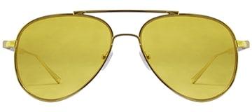 Aviator Yellow Gold Sunglasses
