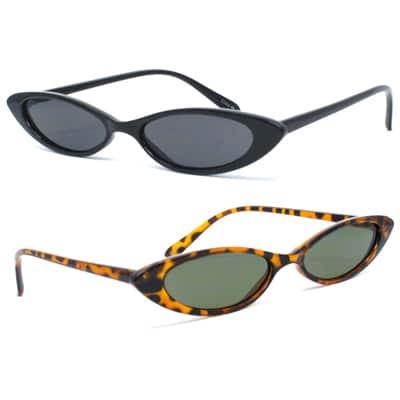 Skinny Sunglasses Trend
