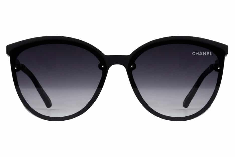 Cat Eye 3905 Black Sunglasses 1
