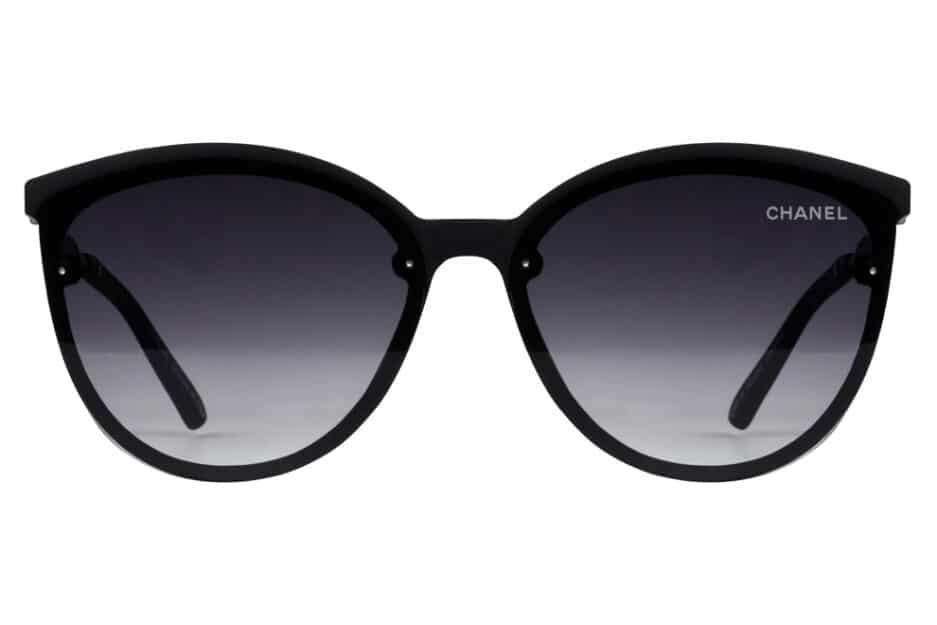Cat Eye 3905 Black Sunglasses 1
