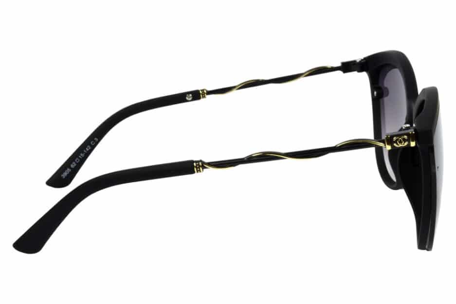 Cat Eye 3905 Black Sunglasses 3